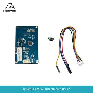 Image 2 - Nextion NX3224T028   2.8 HMI ذكي شاشة تعمل باللمس TFT وحدة LCD 4 أسلاك لوحة مقاوم اللمس لمطور اردوينو