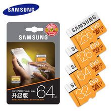100% Original SAMSUNG Micro carte SD 64 GB u3 carte mémoire EVO Plus 64 GB Class10 TF carte C10 95 mo/s MICRO SDXC UHS-1 4K(China)