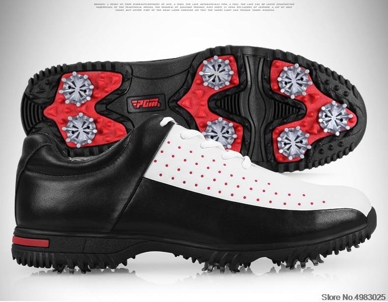 2020 pgm sapatos de golfe couro dos