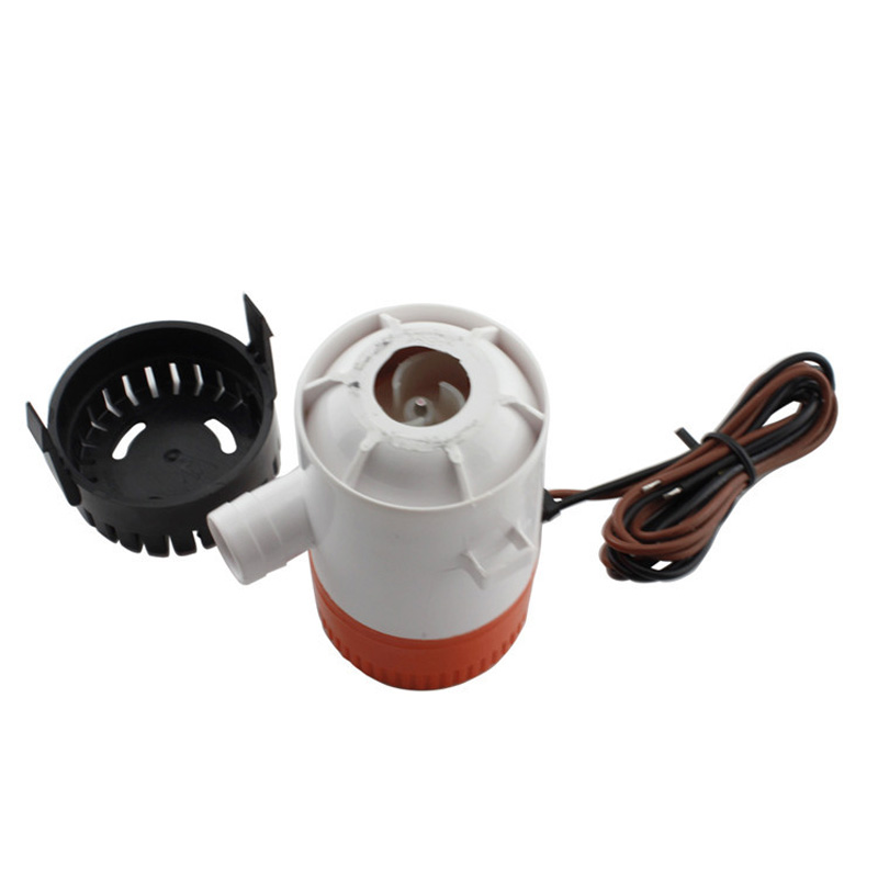 750 GPH Non Automatic Bilge Pump 12V DC Marine Boat Submersible Pump Drain Pump Boat Accessories Marine-in Marine Hardware from Automobiles & Motorcycles