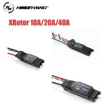 Hobbywing XRotor 2-6 S Lipo 40A/20A/10A Bürstenlosen ESC Keine BEC hohe aktualisierungs rate für multi-achse flugzeuge copters F17544/7