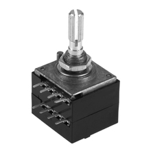 цена на Potentiometer RH2702 8 Pin Serrated Split Shaft 6MM Precision 27-type A50K 50K