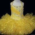 Yellower YY433 Venda Quente bling bling Flower Girl Dresses Party Girl Vestido de Crianças Vestidos de Noite Baratos em estoque