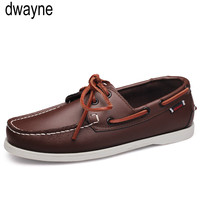 Brand Design Hand Sewing Slip On Mens Loafers Casual Driving Moccasins Business Men Shoes Genuine Leather Men Boat Shoes 45t6