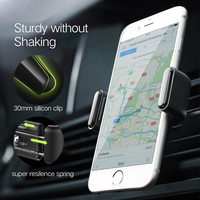 Mounted On Auto Windshield Dashboard Multifunctional Phone Bracket Clip Adjustable Mobile Phone Width Size 360 Degree Rotate