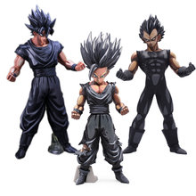 Anime Dragon Ball Z MSP Vegeta Sun Goku Gohan Super Saiyan Manga PVC Action Figure Toy Collectible Model Great Christmas Gift стоимость