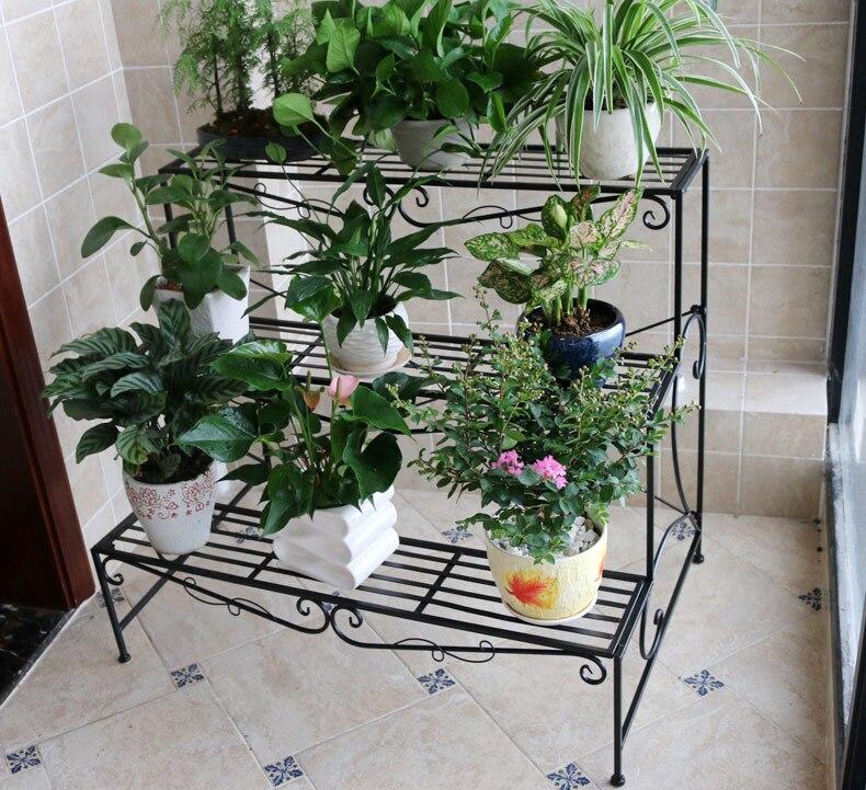 Popular iron flower stands buy cheap iron flower stands - Pedestal para plantas ...