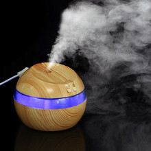 2017 New Arrival Living Room Water Bottle Sprayer Air Aroma Essential Oil Diffuser LED Ultrasonic Aroma Aromatherapy Humidifier