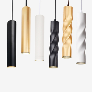 Image 1 - Pendant Lamp dimmable Lights Hanging lamp Kitchen Island Dining Room Shop Bar Counter Decoration Cylinder Pipe Kitchen Lights