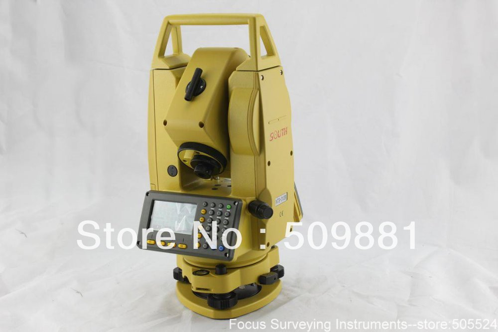 South prism total station NTS-312L Total Station single prism with soft bag for leica type total stations