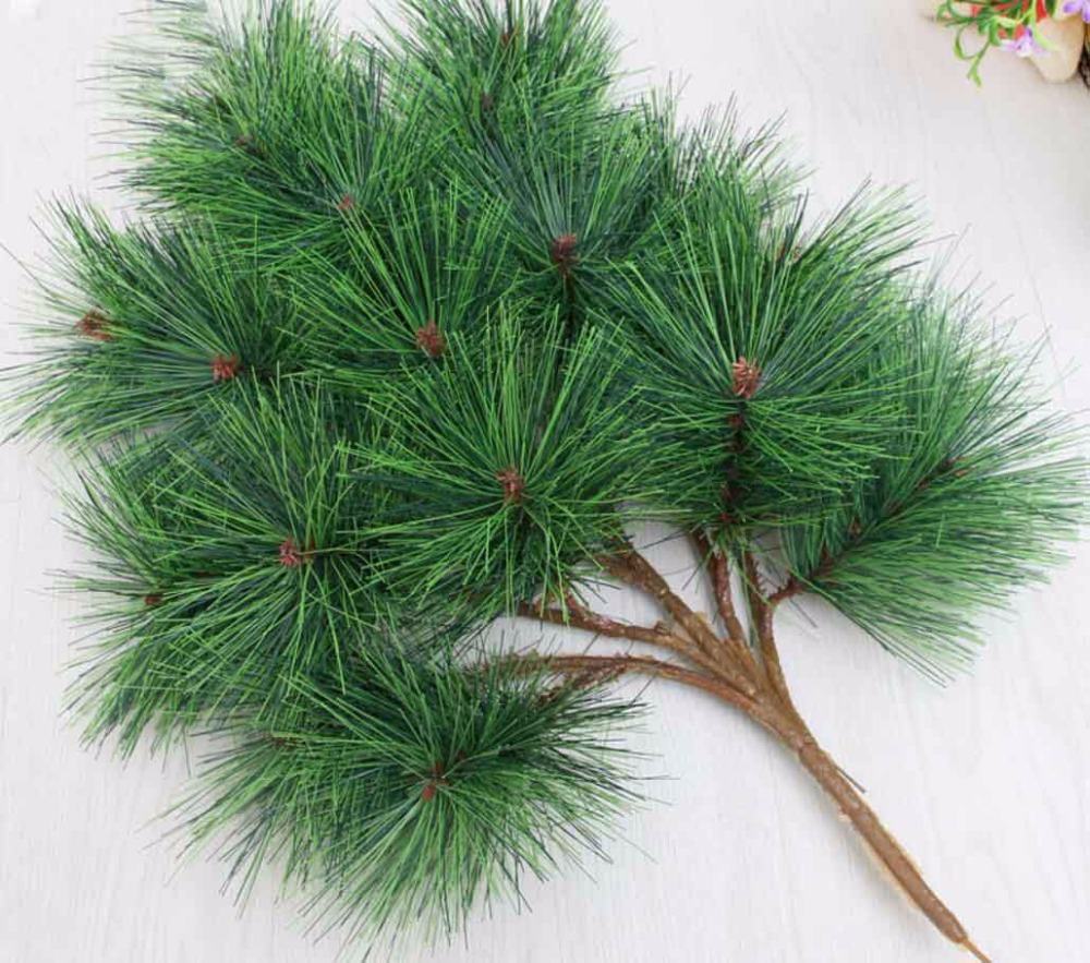Pine Branches For Decoration Online Get Cheap Artificial Pine Branches Aliexpresscom