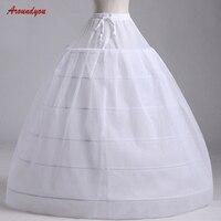 White Pettycoat Crinoline Bridal Ball Gown Petticoat Woman Underskirt Wedding Crinoline Hoop Skirt