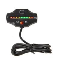 Free Shipping RL BI006 Battery Gauge LED Battery VOLT Meter Battery Indicator 12v FOR Auto Motorcycle
