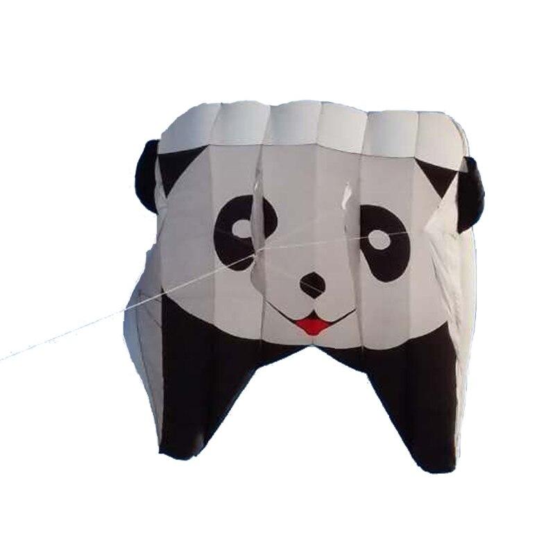 Novi visokokakovostni Nylon Power Panda Kite / Software Piloting - Zabava in šport na prostem