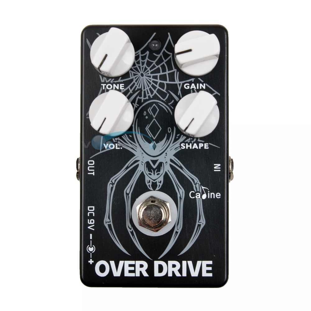 Caline CP-65 سق الغيتار دواسة تأثير 9 V الغيتار الاكسسوارات Over Drive تأثير دواسة الغيتار أجزاء للغيتار باس سق