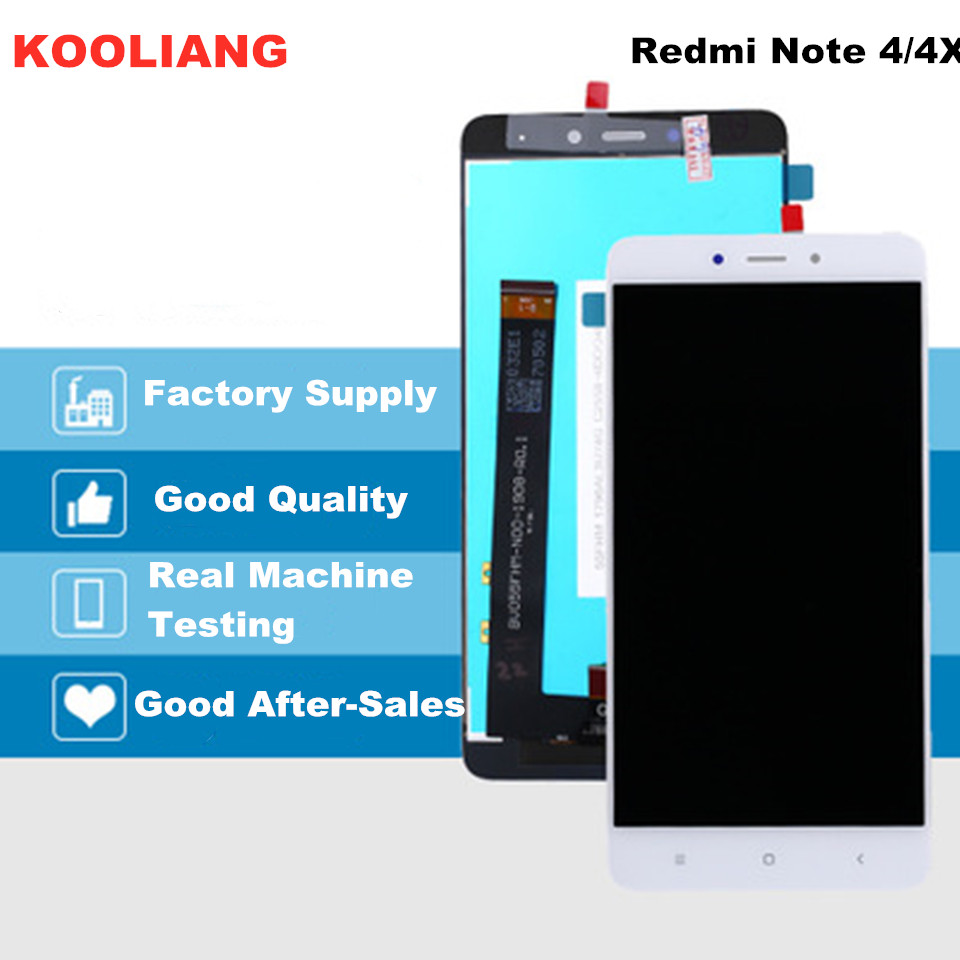 5,5 zoll <font><b>Original</b></font> <font><b>Display</b></font> Für <font><b>XIAOMI</b></font> <font><b>Redmi</b></font> <font><b>Note</b></font> <font><b>4</b></font> LCD Touch Screen Digitizer mit Rahmen LCD Für <font><b>Xiaomi</b></font> <font><b>Redmi</b></font> Hinweis 4x <font><b>Display</b></font> image