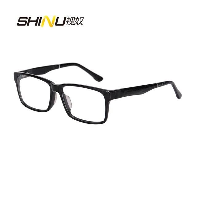 16dd3dc192 Hot Sale Big Square Glasses Frame Black Optical Eyeglasses Frame Women Men  Myopia Eyewear Frames Plain Eye Glasses E674