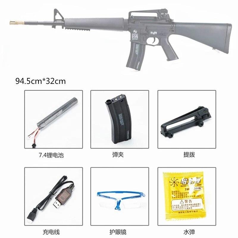 M16 Gel Blaster Gel Gun Water Crystal Bullets Mag fed Toy Gun Adult Size