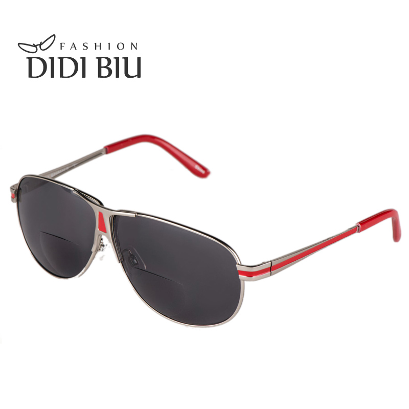 DIDI Degree 100 To 350 Aviator Sunglasses Men Brand Prescription Tinted font b Driving b font
