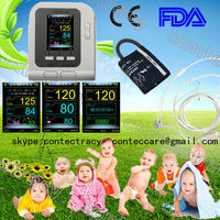 infant using Digital Blood Pressure Meter Monitor Sphygmomanometer Heart Pulse