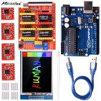 Miroad CNC Engraver Shield Expansion Board V3 0 UNO R3 Board 2 8 Inch TFT Touch
