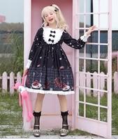Lolita Gothic Victorian Sweet Dresses For Girls JSK Skirt Cosplay Women Magic Tea Party Harajuku Costume Fairy Kei Lolita Dress