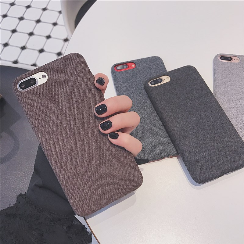 Soft TPU case For iphone 7 8 plus 7plus Case Ultra thin Silicone shockproof Back Cover Phone Cases For iphone 6 6S Plus X case in Half wrapped Cases from Cellphones Telecommunications