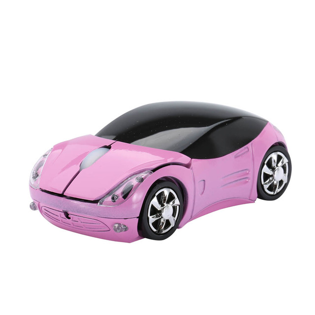 Wireless Mouse Car Shaped 2
