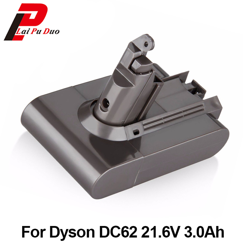 Rechargeable Battery For Dyson Vacuum Cleaner DC58 DC59 DC61 DC62 Animal V6 21.6V 3000mAh Li-ion Batteria