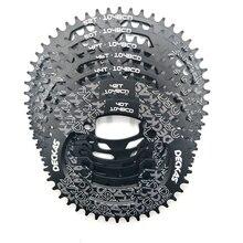 Deckas 타원형 104bcd 40/42/44/46/48/50/52 t 산악 자전거 체인 휠 mtb 자전거 forshimano 8 12 속도 크랭크 셋 알루미늄 체인 링
