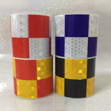 5CM X 5M Reflective Safety Warning Conspicuity Adhesive Tape Film Sticker For Road Caution Colors for Chioce