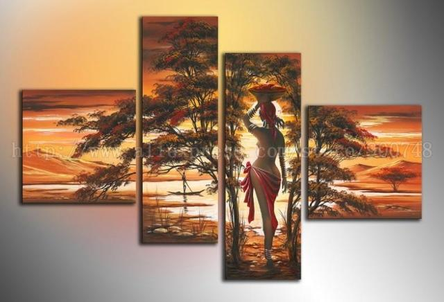 Hand Painted Oil Painting Art Deco Living Room Wall Pictures Beautiful Gifts Office Paintings On