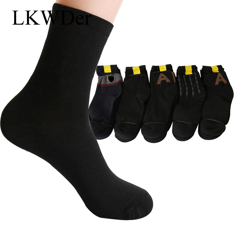 LKWDer 10 Pairs Men   Socks   Male Cotton Spring Autumn Winter Male   Socks   Men Fashion Thermal Casual Breathable Elderly   Socks   Meias