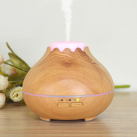 Mini Humidifier Essential Oil Diffuser Portable Home Aromatherapy Wood Grain Aroma Cool Mist Humidifier Oil Diffuser
