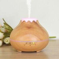 Mini Humidifier Essential Oil Diffuser Portable Home Aromatherapy Wood Grain Aroma Cool Mist Humidifier Oil Diffuser