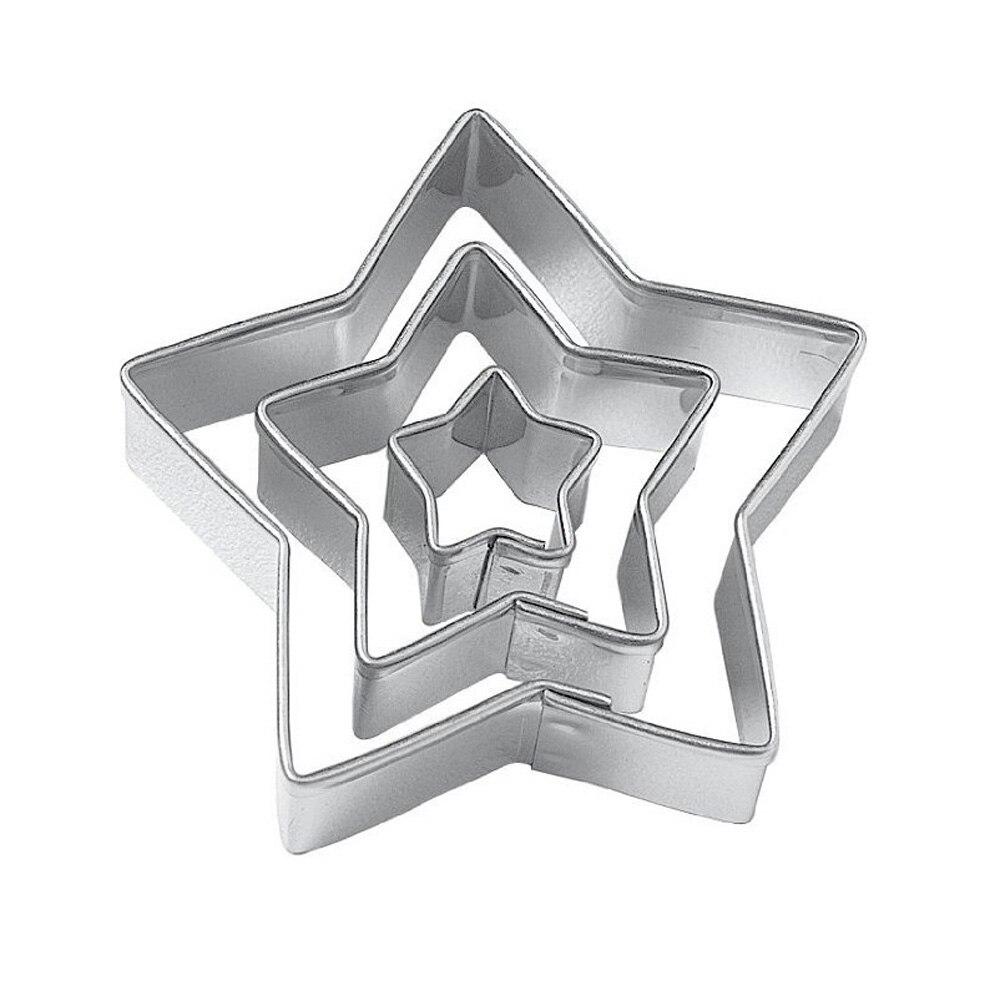 трафарет звезды шестигранной
