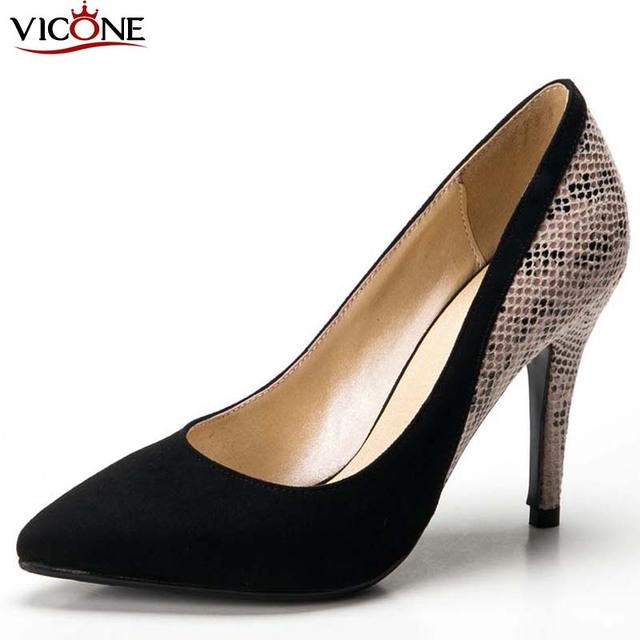 VICONE Womens Shoes Stiletto Heel Heels   Pointed Toe Heels Wedding   Party   Evening
