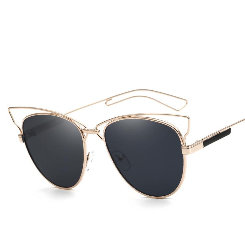 Новые CAT EYE Солнцезащитные очки - Аксессуары для одежды - Фотография 3