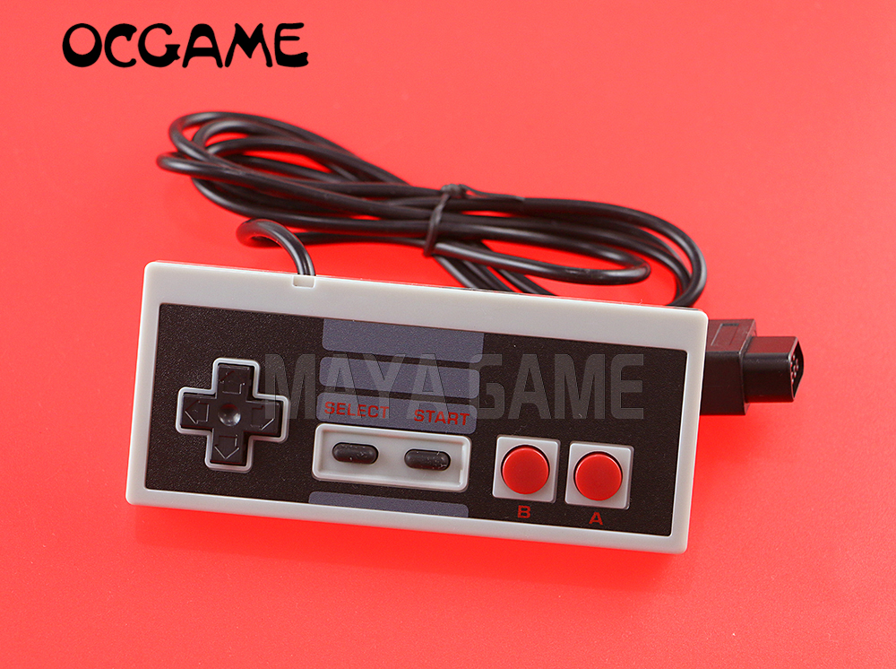 OCGAME 20pcs/lot Hot Classic Controller Gaming Gamer JoyStick Joypad for NES System Console Classic Style 6ft 3rd party