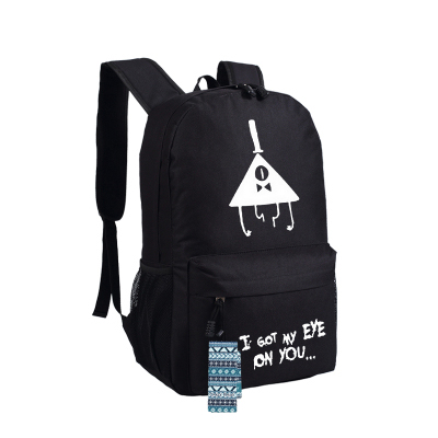 New Gravity Falls Backpack Anime oxford Schoolbags Fashion Unisex Travel Bag цена