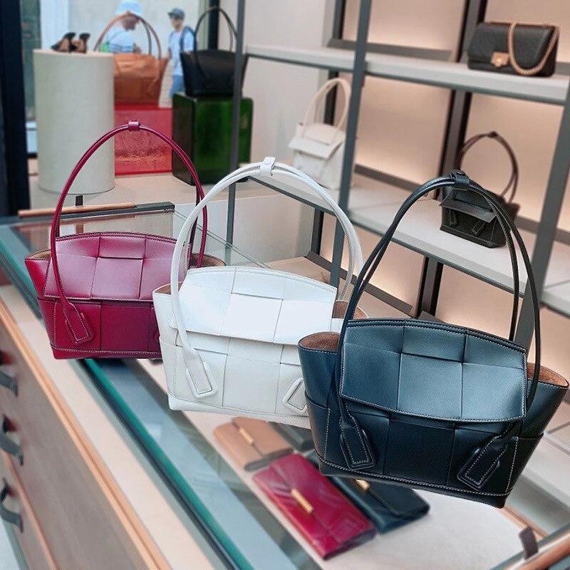 Neue Berühmte Designer Marke Luxus Frauen Leder Handtaschen Mode Messenger Schulter Tote Qualität Tasche Kupplungen Bolsa Feminina-in Schultertaschen aus Gepäck & Taschen bei  Gruppe 3