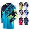 2018 Moto Newest Men S Long Sleeve Mountain Bike Jersey Motocross DH Downhill Jersey Cycling Clothing