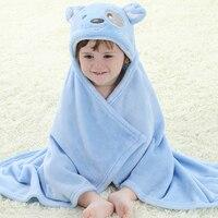Baby Boys Girl S Fleece Cloak Baby Blanket Toddlers Flannel Hooded Cloak Cartoon Animal Design Soft