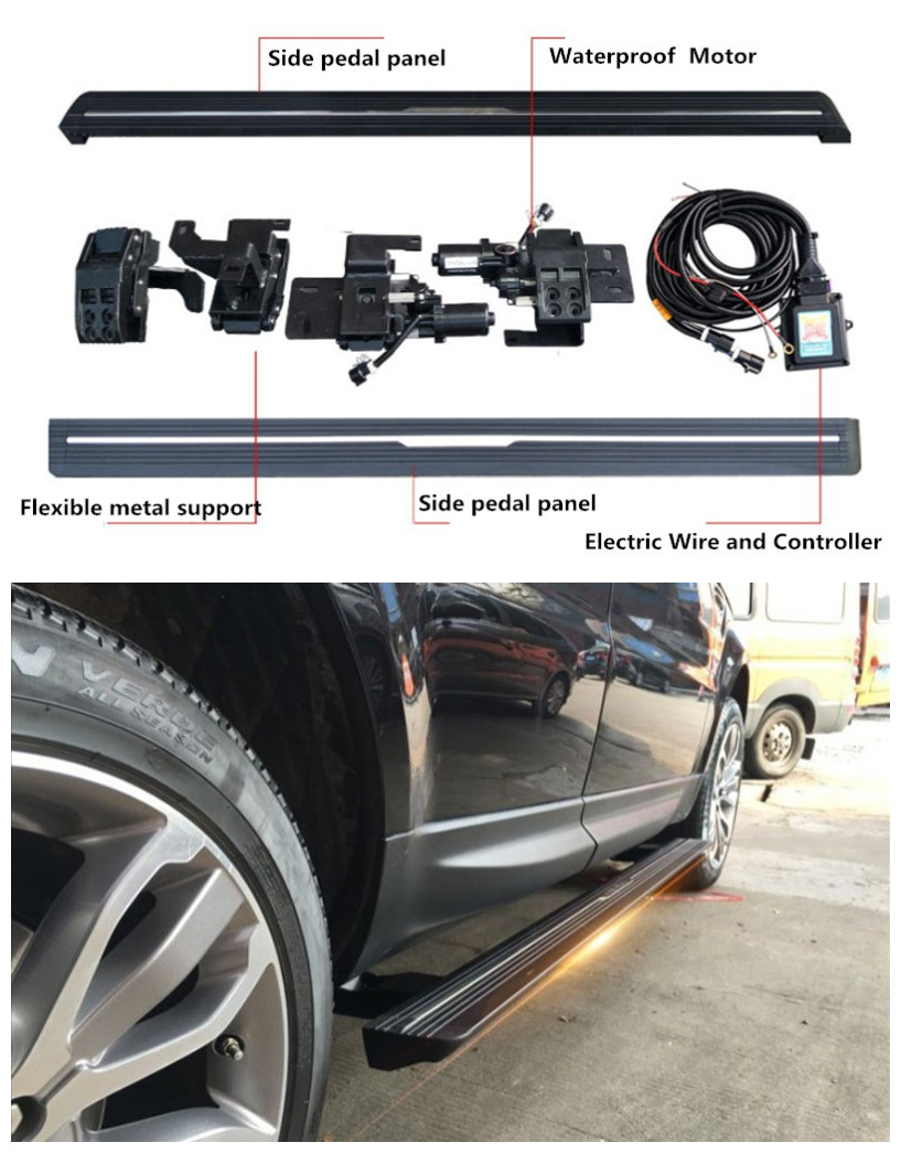 Electric Automatic Running Boards Side Step For Land Rover Range Rover Sport Discovery Sport LR4 LR5 Range Rover Velar Evoque