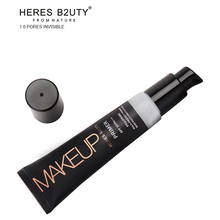 Brand HERES B2UTY Promotion Professional Makeup Base Primer makeup Oil Control Pores Concealing Moisturizing Oil Control
