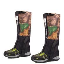 Мужские камуфляжные снежные гетры, ветрозащитные водонепроницаемые гетры, гетры для езды на велосипеде, рыбалки, катания на лыжах, сноуборде, пеших прогулок