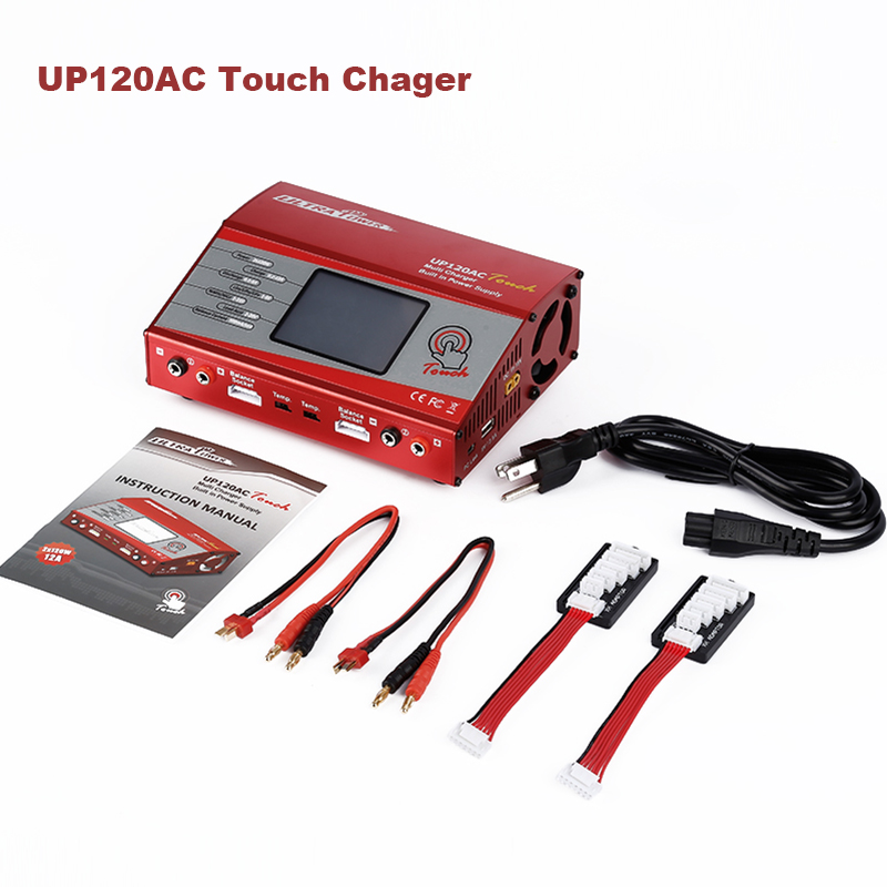 RC Lipo Battery Charger UltraPower UP120AC Touch 110V/240V AC Dual Output Balance Charger Batter than imax b6 For RC FPV original ev peak d1 rc lipo battery charging for yuneec typhoon q500 intelligent balance battery charger
