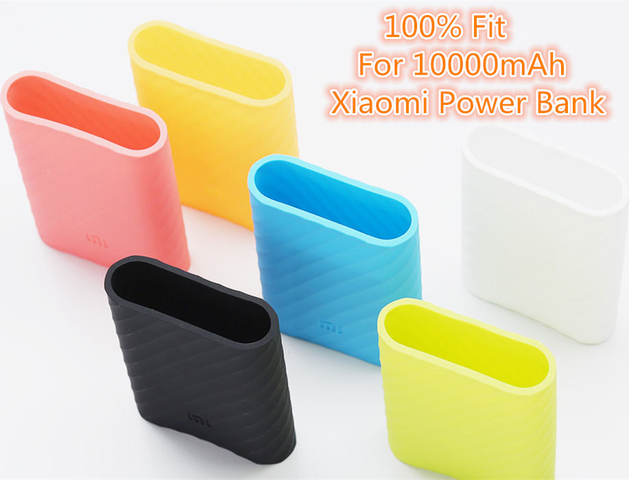 sports shoes e240e be564 US $2.99  High quality Xiaomi 10000 case 100% Fit For Xiaomi Power bank  10000mah MI protetive cover silicone case gel rubber case on Aliexpress.com    ...