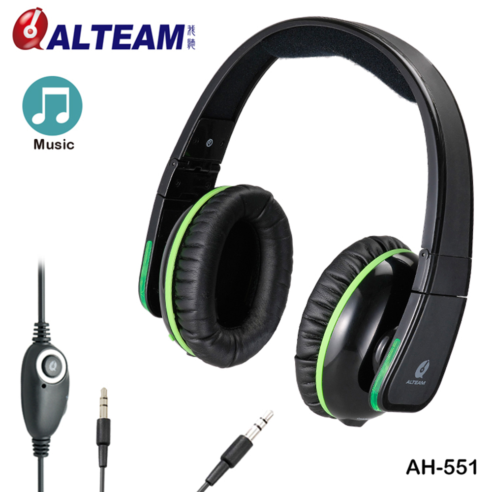 Solid Bass Wired 3.5mm Jack Detachable Cable Over-ear Foldable Audio Headphone with Volume Control LED Light for Music MP3 MP4 portable 3 5 jack wired headphone ear shaped cute foldable stereo headset sport led light gamer games headphones