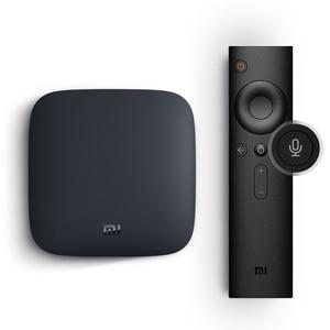 Image 4 - Original Global Xiao mi mi TV Box 3 Android 8.0 4K HDR WiFi Bluetooth multilingue Youtube Dolby lecteur multimédia décodeur intelligent